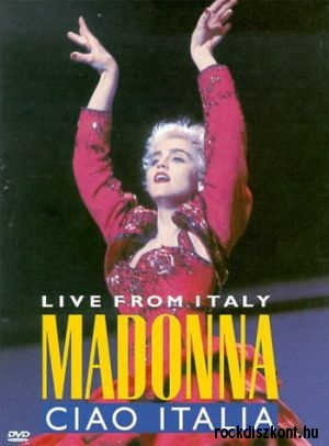 Madonna - Ciao Italia - Live from Italy DVD