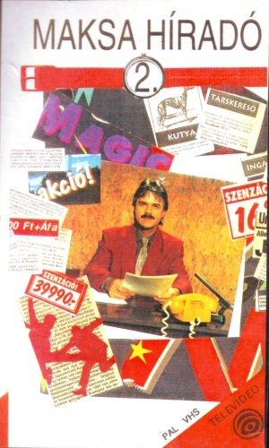 Maksa Híradó 2. - VHS videókazetta