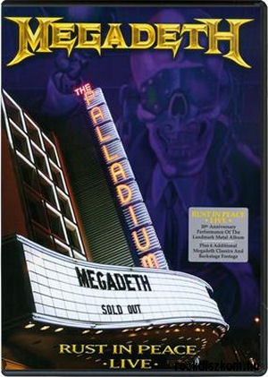 Megadeth - Rust In Peace Live BD (Blu-ray Disc)