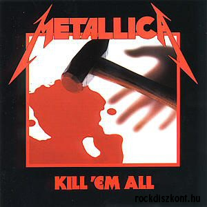 Metallica - Kill Em All Vinyl) LP