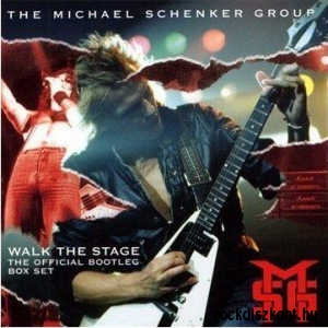 Michael Schenker Group - Walk The Stage - The Official Bootleg Box Set 4CD+DVD