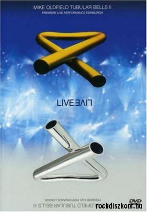 Mike Oldfield - Tubular Bells II Live + Tubular Bells III Live DVD