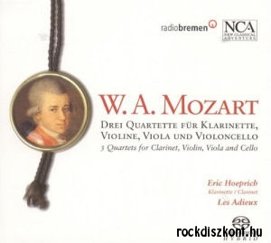 Wolfgang Amadeus Mozart - Drei Quartette SACD