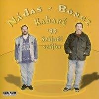 Nádas - Boncz - Kabaré 95 - Szájról szájba CD