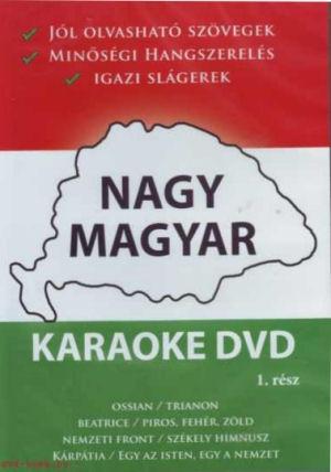 Nagy Magyar Karaoke - 1. rész DVD