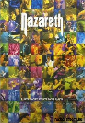 Nazareth - Homecoming - The Greatest Hits Live in Glasgow DVD