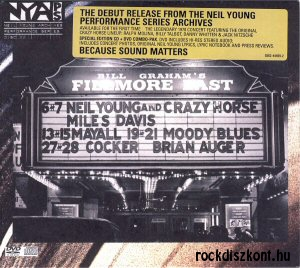 Neil Young and Crazy Horse - Live at the Fillmore East CD + DVD