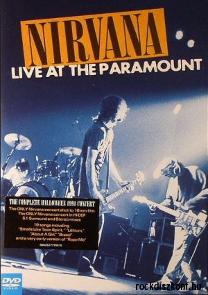 Nirvana - Live at the Paramount DVD