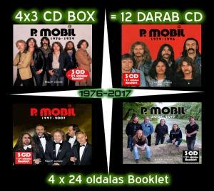P. Mobil - 1976-2017 - A Nagy P. sorozat összes lemeze - 12CD