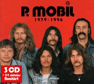 P. Mobil - 1979-1996 - Nagy P. sorozat (Tunyogi évek) 3CD+24 oldalas Booklet