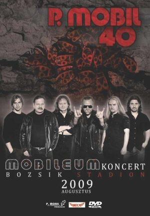P. Mobil - Mobileum Koncert - Budapest, Bozsik Stadion - 2009. augusztus 8. DVD