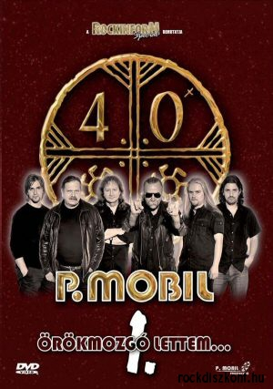 P. Mobil - Örökmozgó lettem No. 1 DVD