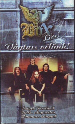 Pandoras Box (P. Box) - Live - Vágtass velünk! - VHS kazetta