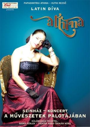 Papadimitriu Athina - Latin Díva: Színház - Koncert a Művészetek Palotájában DVD
