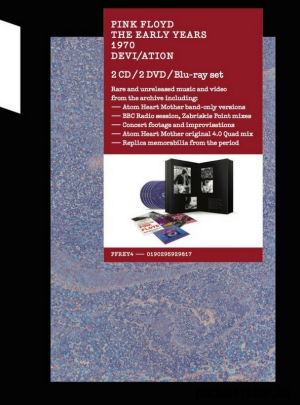 Pink Floyd - The Early Years: 1970 Devi/Ation 2CD+2DVD+Blu-ray