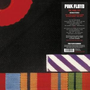 Pink Floyd - The Final Cut (2017 Reissue - 180 gram Vinyl) LP