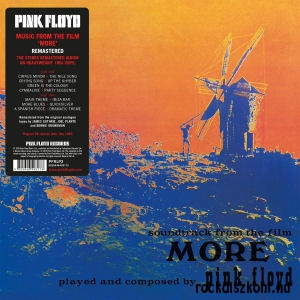 Pink Floyd - Soundtrack from the film More (180 gr. Vinyl) - 2016 Remaster LP