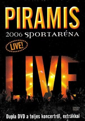 Piramis - Live - 2006 Sportaréna 2DVD+Plakát+48 oldalas füzet