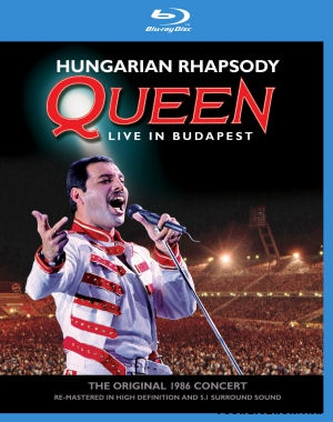 Queen - Hungarian Rhapsody - Live In Budapest - The Original 1986 Concert BD (Blu-ray Disc)