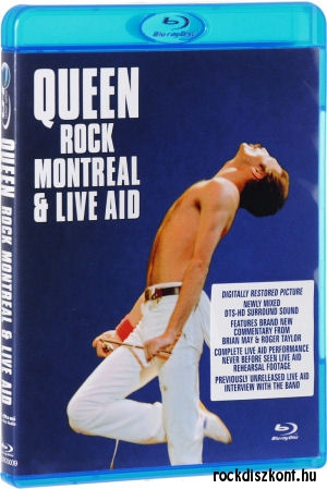 Queen - Rock Montreal & Live Aid (Blu-ray)
