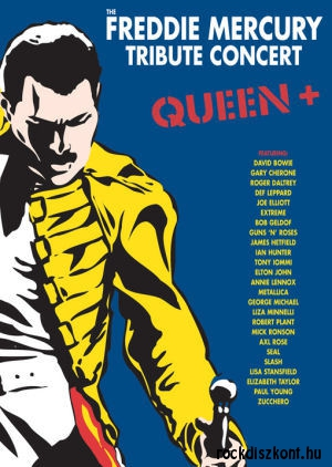 Queen+ The Freddie Mercury Tribute Concert 3DVD