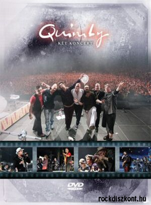 Quimby - Két koncert 2DVD