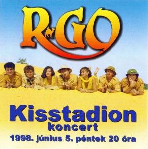 R-Go - Kisstadion 1998. június 5. koncert CD