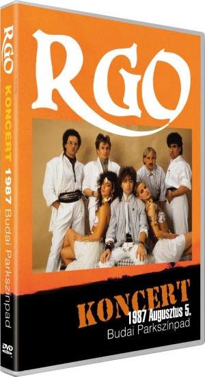 R-GO - Koncert Budai Parkszínpad 1987. augusztus 5. - DVD