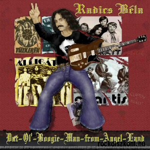 Radics Béla - Dat-Ol-Boogie-Man-from-Angel-Land LP