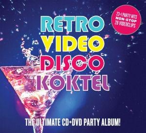 Retro Video Disco Koktél - The Ultimate CD+DVD Party Album! CD+DVD