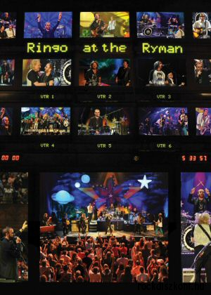 Ringo Starr and His All Starr Band - Ringo at the Ryman DVD