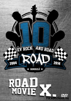 Road - Road Movie X. - 10 év Rock and Road (2004-2014) DVD