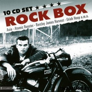 10 CD Rock Box