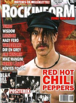 Rockinform Zenei Magazin - XIX. évf. 184. szám - Ingyenes CD-melléklettel