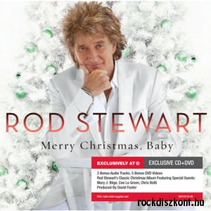 Rod Stewart - Merry Christmas, Baby (Exclusive Deluxe Edition) CD+DVD