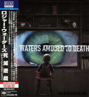 Roger Waters - Amused To Death (2015 Remaster Deluxe Box) BSCD2+BD-A (5.1 Blu-ray Audio)