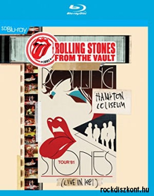 The Rolling Stones - From The Vault - Hampton Coliseum - Live in 1981 (Blu-ray)