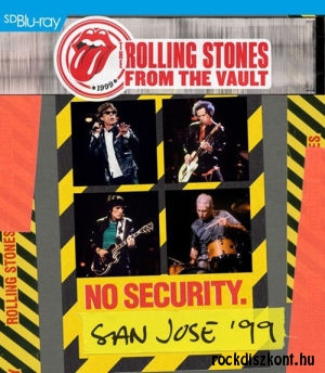 The Rolling Stones - From The Vault: No Security. San Jose '99 (Blu-ray)