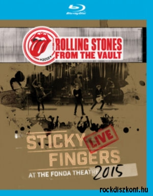 The Rolling Stones - From The Vault: Sticky Fingers Live at the Fonda Theatre 2015 - Blu-ray Disc