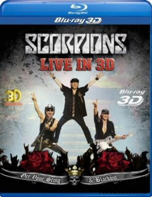 Scorpions - Live in 3D (Get Your Sting & Blackout) 3DBD (3D Blu-ray Disc)