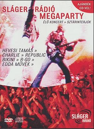 Sláger Rádió Megaparty DVD+CD
