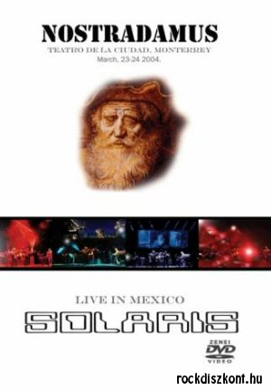 Solaris - Nostradamus - Live in Mexico DVD+CD