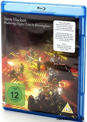 Steve Hackett - Wuthering Nights: Live in Birmingham Blu-ray