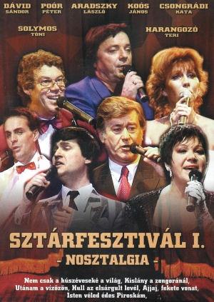 Sztárfesztivál I. - Nosztalgia DVD