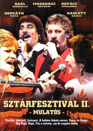 Sztárfesztivál II. - Mulatós DVD