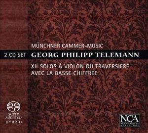 Georg Philipp Telemann - Solos A Violin Ou Traversiere Avec La Basse Chiffree 2SACD