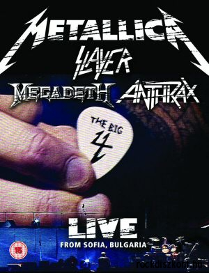Metallica,  Slayer,  Megadeth,  Anthrax - The Big 4 Live From Sofia,  Bulgaria 2DVD