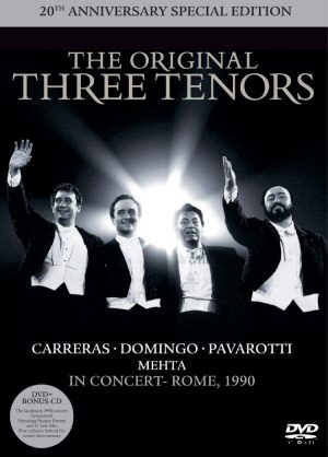 The Original Three Tenors - 20th Anniversary Edition DVD+CD