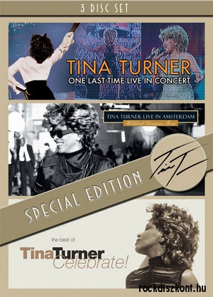Tina Turner - One Last Time Live in Concert/Live In Amsterdam/Celebrate! - 3DVD