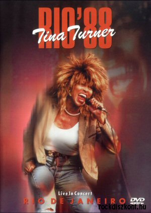 Tina Turner - Rio 88 - Live in Concert- Rio de Janeiro DVD